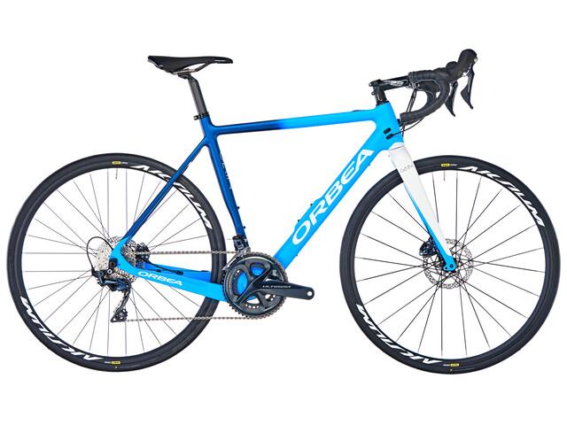 ORBEA Gain M20 Bici da corsa elettrica blu/bianco